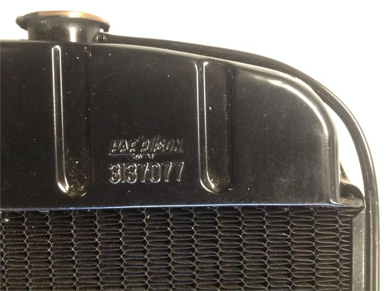 55 57 1955 1956 1957 Chevy Copper Radiator 3 Rows Of 1