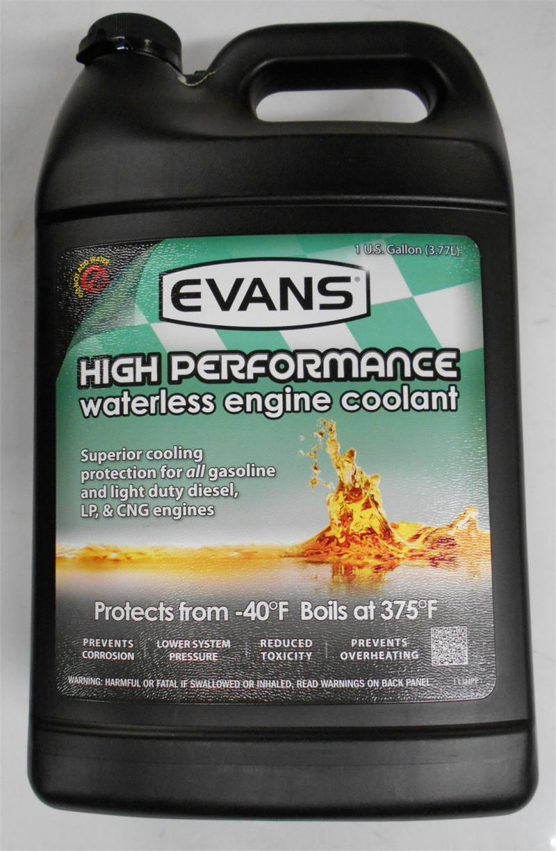 Evan's Waterless High Performance Engine Coolant