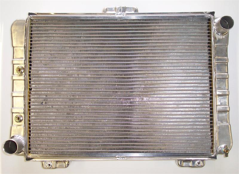 2 Core Griffin Aluminum Radiator For 1964 Ford Galaxie Hot