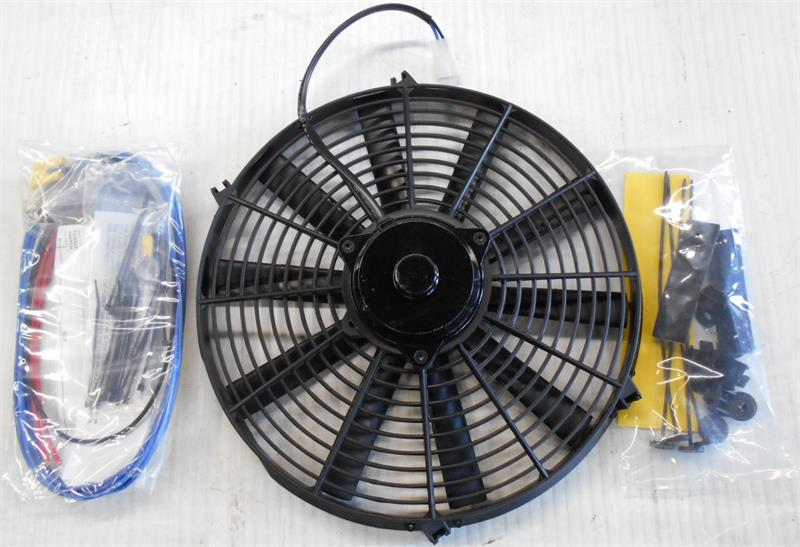 6 Volt Electric Cooling Fan 16 U0026quot  Diameter Straight Blade