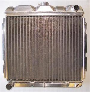 2 Core Aluminum Radiator By Griffin For 1966-1969 Dodge Charger